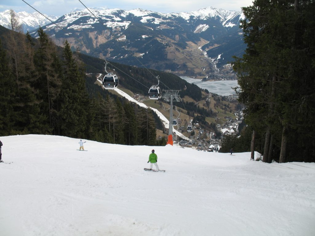 zell am see skijanje