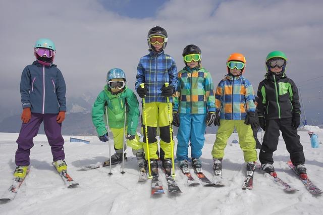 skijanje sa decom
